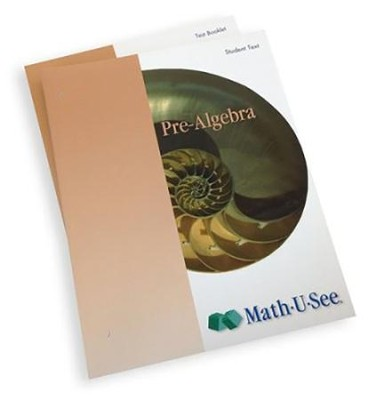 Math-U-See Pre-Algebra Student Pack (for an Additional Student)  -