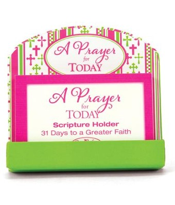 Prayers for Today, Scripture Cards  -