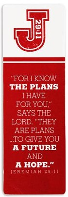 I Know the Plans Bookmark  -