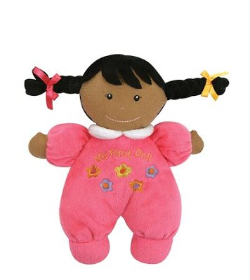 My 1st Doll, Hot Pink, African American  -