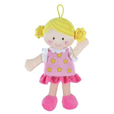 Blonde Knotty Doll, Pink  -