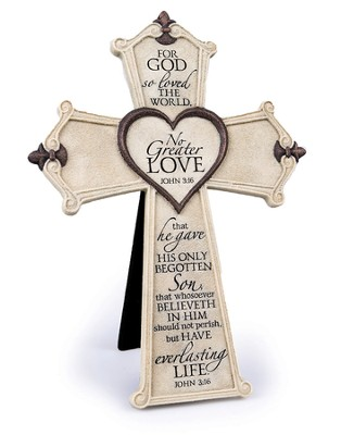 No Greater Love Cross  -