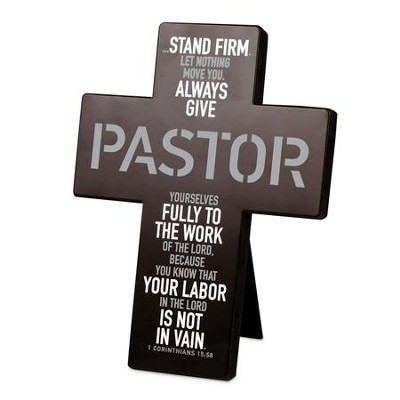 Pastor, Desktop Cross  -