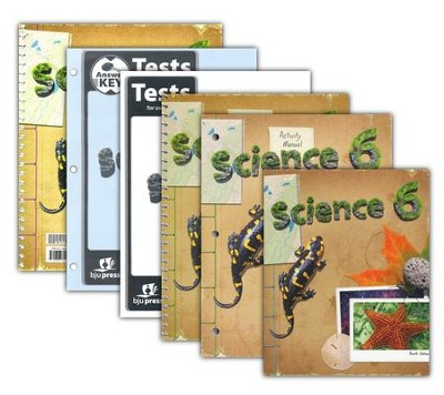 BJU Press Science Grade 6 Homeschool Kit (Updated 4th  Edition)  -