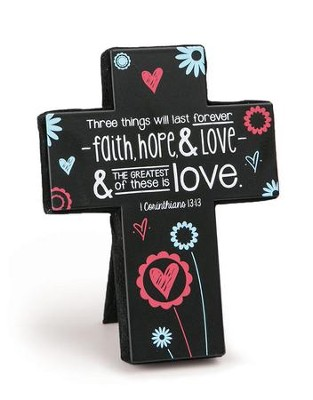 Faith, Hope, and Love Cross, Small  -
