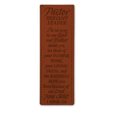 Pastor, Servant Leader Bookmark  -