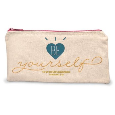 Be Yourself Pencil Bag  -