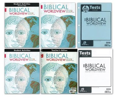 BJU Press Biblical Worldview Homeschool Kit (KJV Version)  -