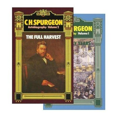Spurgeon Autobiography 2 Volume Set   -     By: Charles Haddon Spurgeon