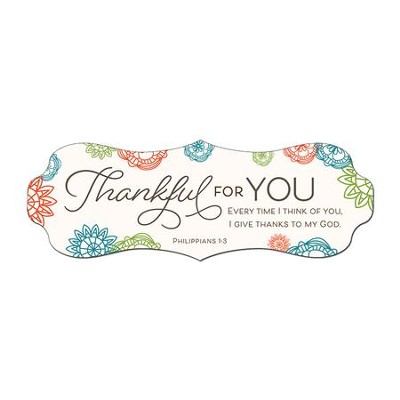 Thankful for You Bookmark  -