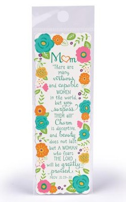 Mom, Virtuous and Capable Women Bookmark  -