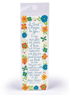 I Said A Prayer For You Bookmark  -