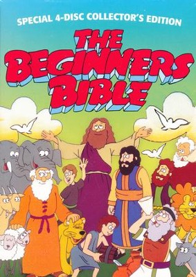 The Beginner's Bible Box Set, 4 DVDs   -