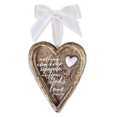 You Are Loved, Heart Ornament  -