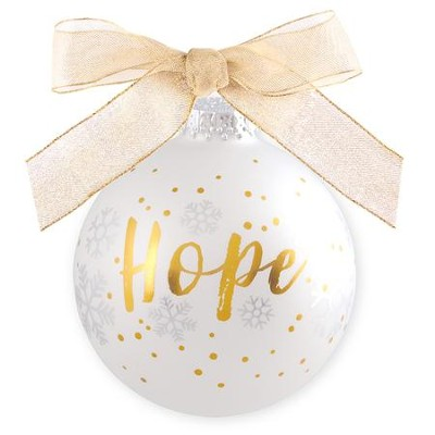 Hope, For Unto Us A Child Is Born, Ornament  -