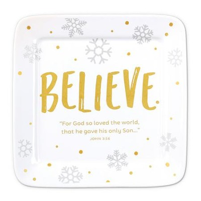Believe, For God So Loved the World, Plate  -