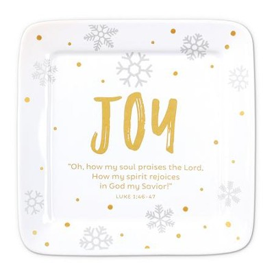 Joy, Oh How My Soul Praises the Lord, Plate  -