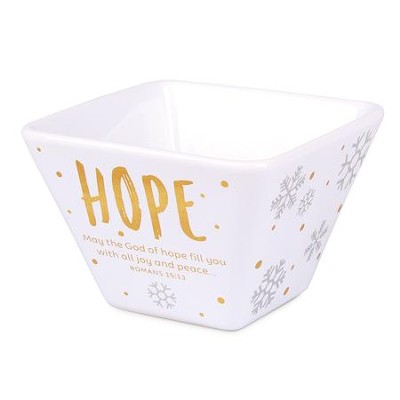 Hope, For Unto Us A Child Is Born, Bowl  -