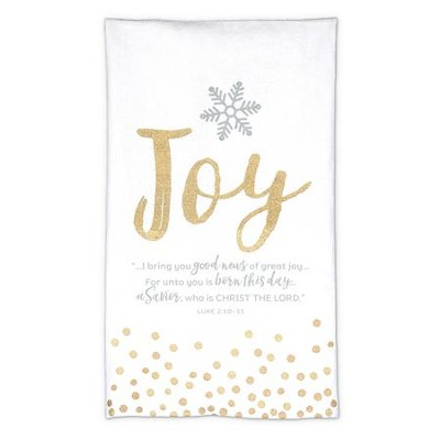 Joy, I Bring You Good News Of Great Joy, Towel  -