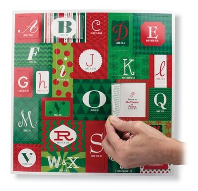 Alphabet Advent Calendar with Scripture   -