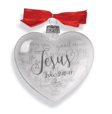 Jesus (Luke 2:10-11), Reflecting God's Love Ornament  -