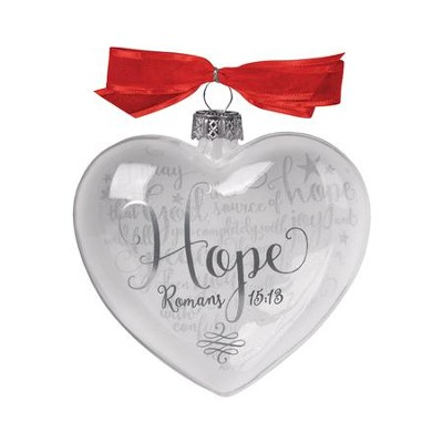 Hope (Rom 15:13), Reflecting God's Love Ornament  -