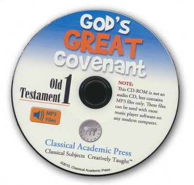 God's Great Covenant Old Testament 1 CD-ROM of Audio Recordings  -     By: Christopher Perrin