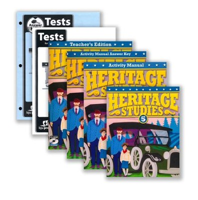 BJU Heritage Studies Grade 5 Homeschool Kit (Updated Fourth Edition)  -