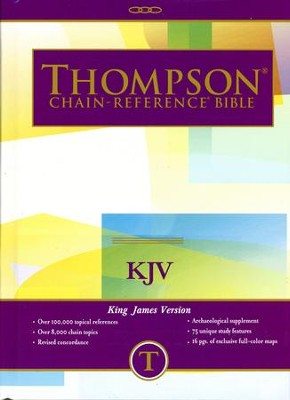 KJV Thompson Chain-Reference Bible, Hardcover   -