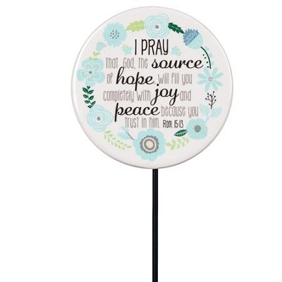 Praying For You Floral Pick  -