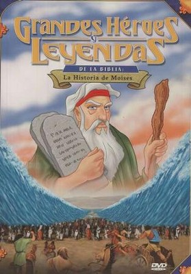 La Historia de Moises, Grandes Heroes y Leyendas de la Biblia  (Moses, Great Heroes and Legends of the Bible), DVD  -