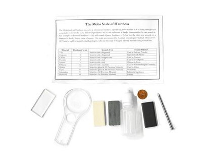 Rock & Mineral Test Kit   -