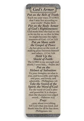 Armor of God Bookmark  -