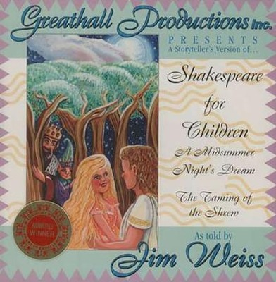 A Storytellers Version of Shakespeare for Children Audio CD   -     By: Jim Wiess