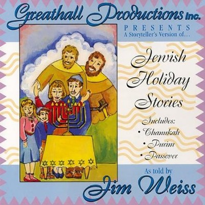 Jewish Holiday Stories - Audiobook on CD  -     By: Jim Weiss