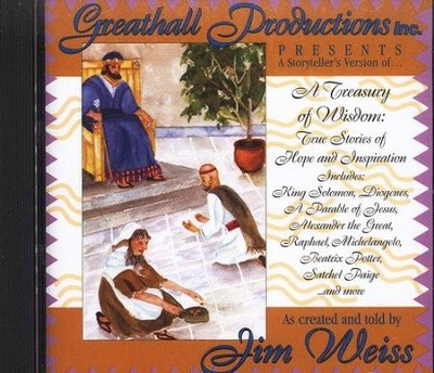 A Treasury of Wisdom: True Stories of Hope and  Inspiration on Audio CD  -