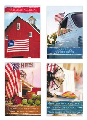 Honoring Heroes, Flags Cards, Box of 12  -