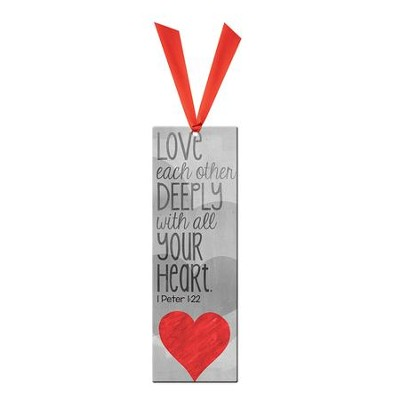 Love Deeply Bookmark  -