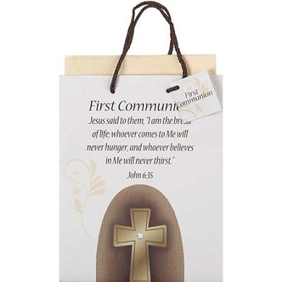 First Communion Gift Bag, Medium   -