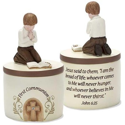 First Communion Keepsake Box, Boy  -