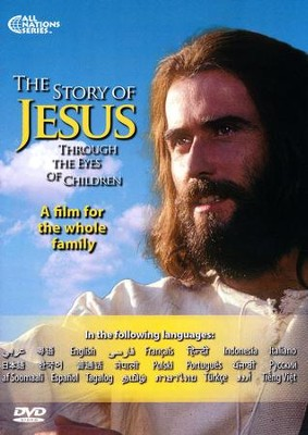 The Story of Jesus Through the Eyes of Children 24-Language DVD  -