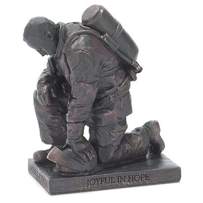 Firefighter, Prayer Figurine                                                              -