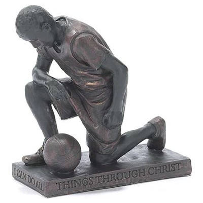 Basketball Player, Prayer Figurine                                                                        -