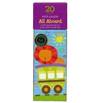 All Aboard 20 Piece Stick Puzzle   -