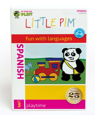 Little Pim Spanish Playtime (DVD 3)  -     By: Julia Pimsleur