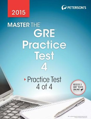 Master the GRE 2015: Practice Test 4: Prac Tes 4 of 4 - eBook  -