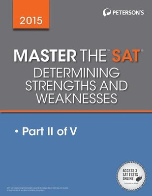 Master the SAT 2015: Diagnosing Strengths and Weaknesses: Part II of V - eBook  -