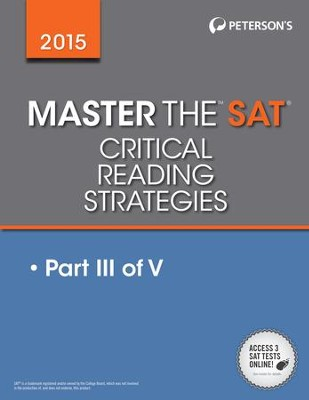Master the SAT 2015 Critical Reading: Part III of V - eBook  -