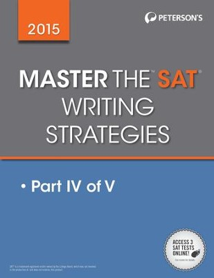 Master the SAT 2015 Writing: Part IV of V - eBook  -