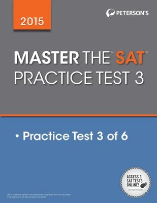 Master the SAT 2015: Practice Test 3: Prac Tes 3 of 6 - eBook  -
